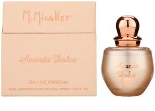 M. Micallef Ananda Dolce Eau de Parfum para mulheres 30 ml