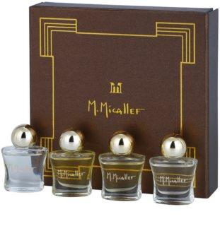 M. Micallef Mini dárková sada I. Akowa + Emir + Pure + Ananda Dolce