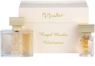 M. Micallef Royal Muska dárková sada I.