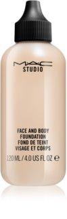 MAC Studio maquilhagem para rosto e corpo fórmula ligeira  embalagem grande