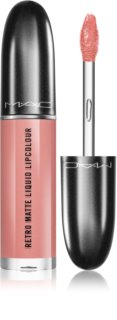 MAC Retro Matte Liquid Lipcolour matte lippenstift met metallic effect