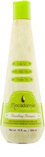 Macadamia Natural Oil Care champô alisante para cabelos danificados e quimicamente tratados