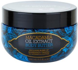 Macadamia Oil Extract Exclusive Manteiga corporal hidratante para todos os tipos de pele