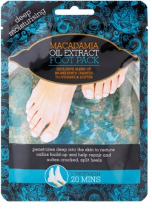Macadamia Oil Extract Pack calcetines hidratantes