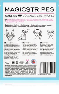 MAGICSTRIPES Wake Me Up Collagen Eye Mask for Tired Skin