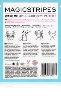 MAGICSTRIPES Wake Me Up maska kolagenowa do okolic oczu przeciw oznakom zmęczenia
