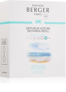 Maison Berger Paris Car Ocean Breeze illat autóba 2 x 17 g utántöltő
