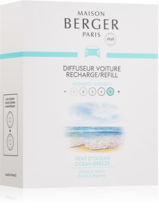 Maison Berger Paris Car Ocean Breeze parfum pentru masina Refil 2 x 17 g