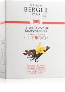 Maison Berger Paris Car Vanilla Gourmet illat autóba 2 x 17 g utántöltő