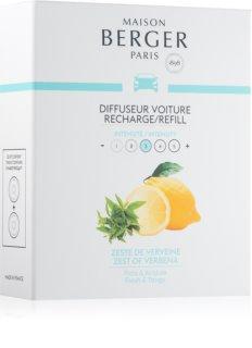 Maison Berger Paris Car Zest Of Verbena parfum pentru masina Refil 2 x 17 g