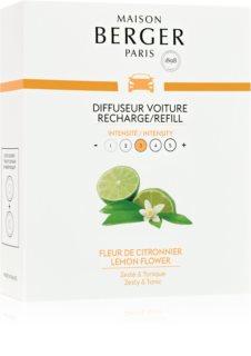 Maison Berger Paris Car Lemon Flower parfum pentru masina Refil