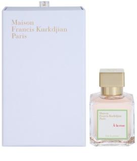 Maison Francis Kurkdjian A la Rose Eau de Parfum voor Vrouwen  70 ml