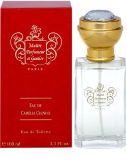 Maître Parfumeur et Gantier Camelia Chinois eau de toilette pour femme 100 ml
