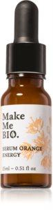 Make Me BIO Orange Energy sérum facial iluminador con efecto humectante
