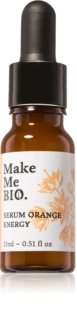Make Me BIO Orange Energy sérum illuminateur visage pour un effet naturel
