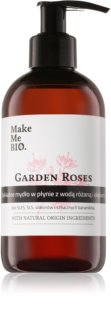 Make Me BIO Garden Roses Caring Hand Liquid Soap With Pump