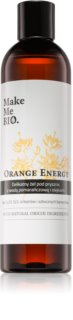 Make Me BIO Orange Energy gel de duche refrescante com efeito hidratante