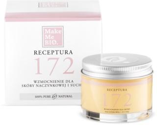 Make Me BIO Receptura 172 crème fortifiante pour peaux sèches à tendance couperosique