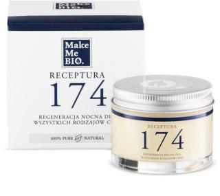 Make Me BIO Receptura 174 regenerierende Nachtcreme für alle Hauttypen