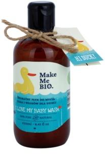 Make Me BIO Baby Care делікатний миючий гель для волосся та тіла для дітей