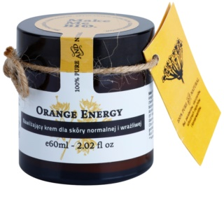 Make Me BIO Face Care Orange Energy зволожуючий крем для нормальної та чутливої шкіри