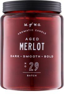 Makers of Wax Goods Aged Merlot vonná svíčka 513,12 g