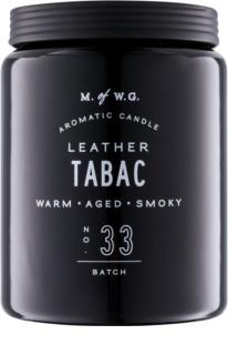 Makers of Wax Goods Leather Tabac vonná svíčka 513,12 g
