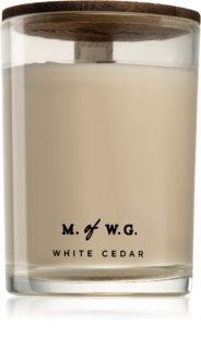 Makers of Wax Goods White Cedar vela perfumada com pavio de madeira