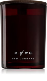 Makers of Wax Goods Red Currant vela perfumada com pavio de madeira