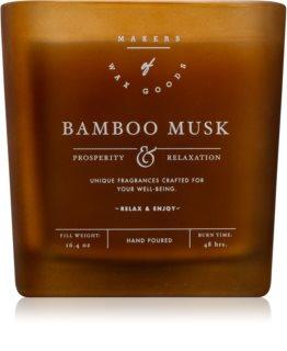 Makers of Wax Goods Bamboo Musk duftkerze