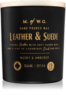 Makers of Wax Goods Leather & Suede świeczka zapachowa