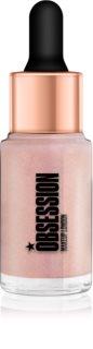 Makeup Obsession Liquid Illuminator tekoči osvetljevalec s kapalko