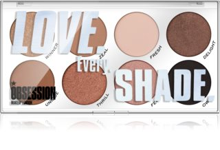 Makeup Obsession Love Every Shade Palett för ögonskugga