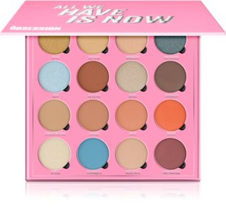 Makeup Obsession All We Have Is Now palette de fards à paupières