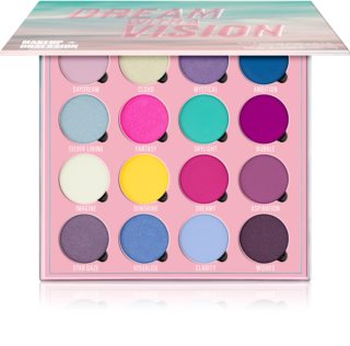 Makeup Obsession Dream With A Vision palette de fards à paupières