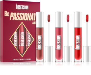 Makeup Obsession Be Passionate About set para labios