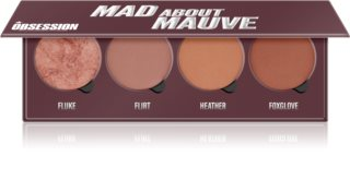 Makeup Obsession Mad About Mauve paleta de blushes