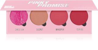 Makeup Obsession Pinky Promise paleta tvářenek