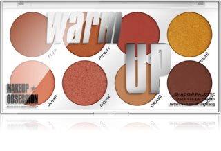 Makeup Obsession Warm Up paleta de sombras de ojos