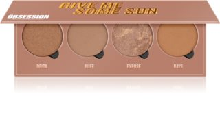 Makeup Obsession Give Me Some Sun paletă de bronzere