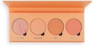 Makeup Obsession Isn't It Peachy paleta fard de obraz
