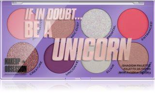 Makeup Obsession Be A Unicorn paletka očních stínů