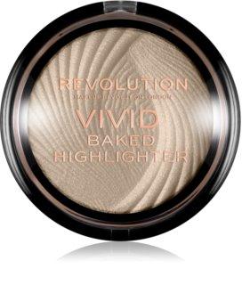Makeup Revolution Vivid Baked ψημένη λευκαντική πούδρα