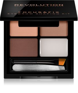 Makeup Revolution Focus & Fix kit para unas cejas perfectas