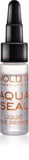 Makeup Revolution Aqua Seal učvršćivač sjenila za oči i podloga 2 u 1