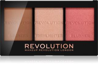 Makeup Revolution Ultra Sculpt & Contour палитра контури за лице