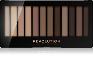 Makeup Revolution Essential Mattes 2 paleta cieni do powiek
