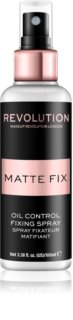 Makeup Revolution Pro Fix mattierendes Fixierspary für das Foundation