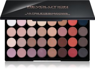 Makeup Revolution Flawless Matte 2 paleta cieni do powiek z lusterkiem