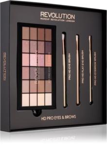 Makeup Revolution Pro HD Eyes coffret I.